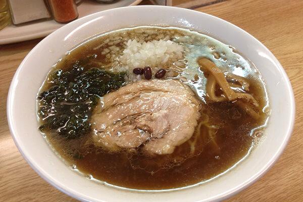 麺処あずき(醤油らーめん)