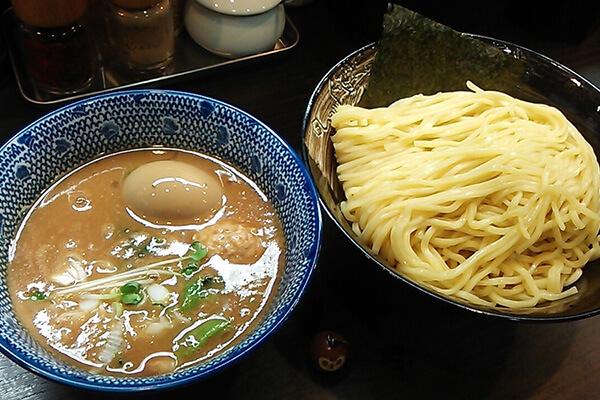 麺屋神 中川會(濃厚魚介つけ麺)